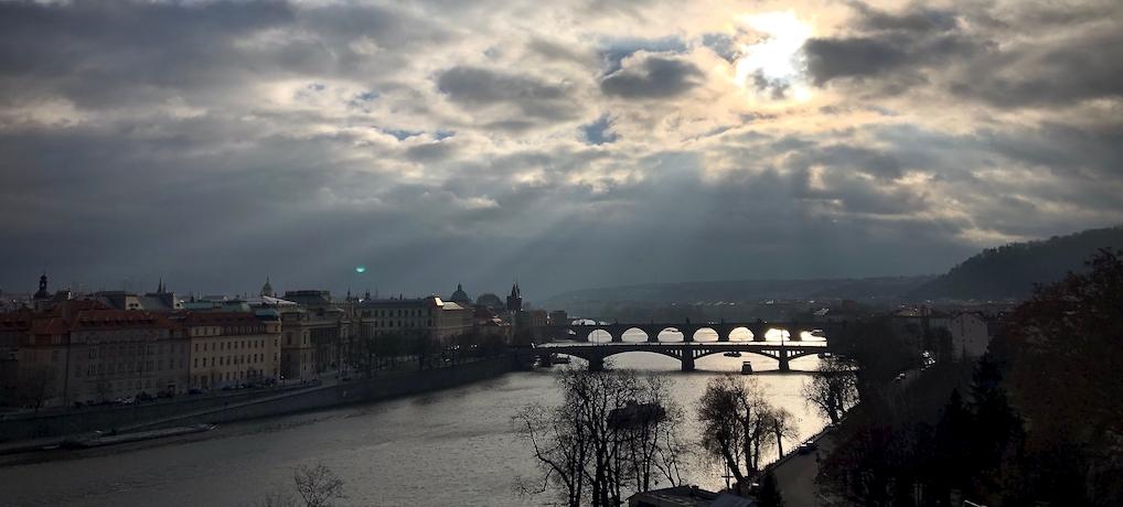Месяц в Праге